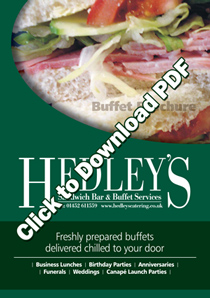 Download PDF Buffet Menu